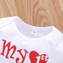cute alphabet  warm infant twopiece baby romper NHLF302006