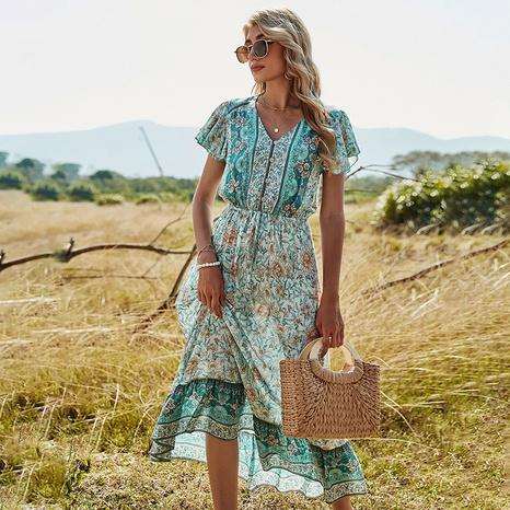 robe imprimée de loisirs NHDF302113's discount tags