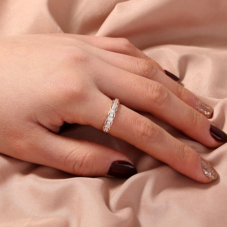 fashion zircon simple open ring NHAN302224's discount tags