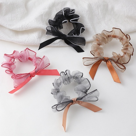 yarn bow hair rope NHAU302229's discount tags