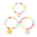 bracelet mignon en perles colores pour enfants NHNU302266