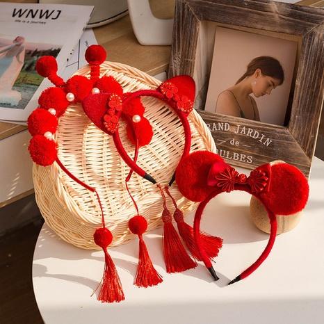 Chinese style fashion tassel headband NHCQ302267's discount tags
