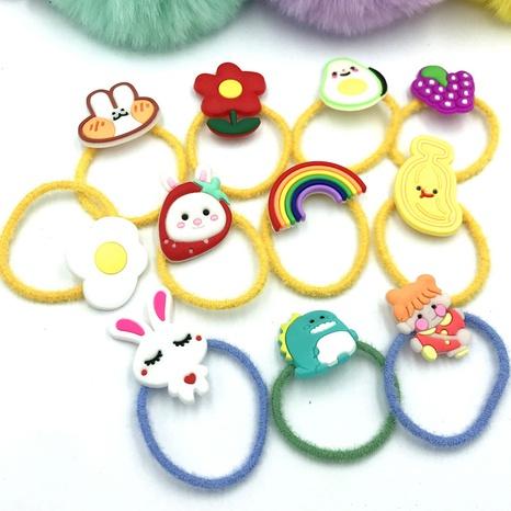cartoon doll elastic hair rope NHDI302286's discount tags