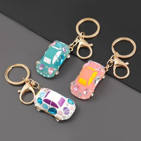 diamond-studded cartoon keychain NHJE302320's discount tags