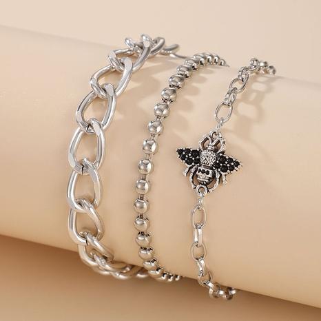 Fashion Bohemian Bee Bracelet 3 Piece Set NHGY302371's discount tags