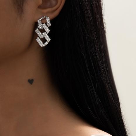 diamonds chain earrings NHXR302407's discount tags