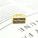 fashion new double row microinlaid zircon ring  NHGO302421