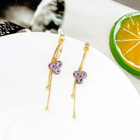 fashion long new tassel earrings NHQD302493's discount tags