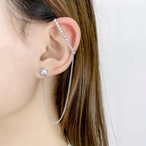 Tassel asymmetric new earrings NHQD302502's discount tags