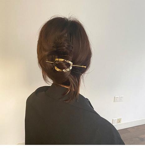 Épingle à cheveux moderne simple coréenne NHDQ302529's discount tags