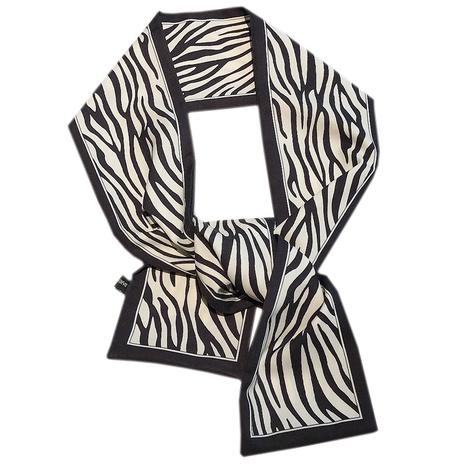 retro printing silk hairband NHDQ302531's discount tags