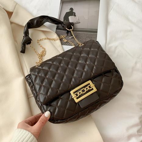 nuevo bolso mensajero de cadena rómbica de moda NHRU302576's discount tags
