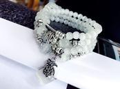 multilayer fashion opal bracelet  NHFT302690