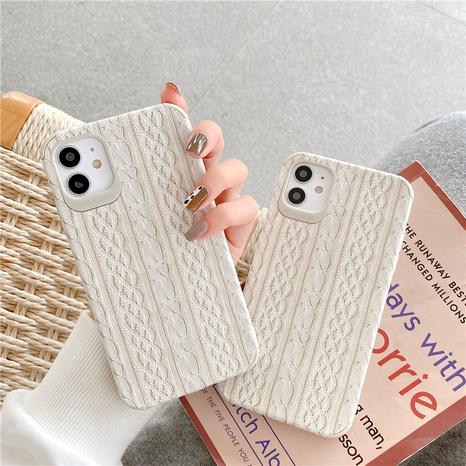 Étui de téléphone portable hiver pull pour iPhone11proMax Apple 8plus se2 X XR NHFI291160's discount tags