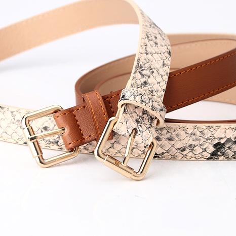 simple korean wild  belt  NHJN291169's discount tags
