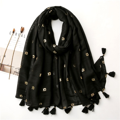 cotton linen korean  wild thin winter shawl sunscreen silk scarf  NHGD291247's discount tags