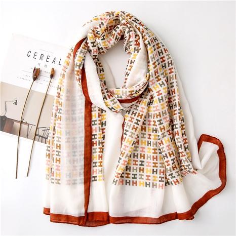 Bufanda de seda salvaje del mantón de la moda coreana NHGD291249's discount tags