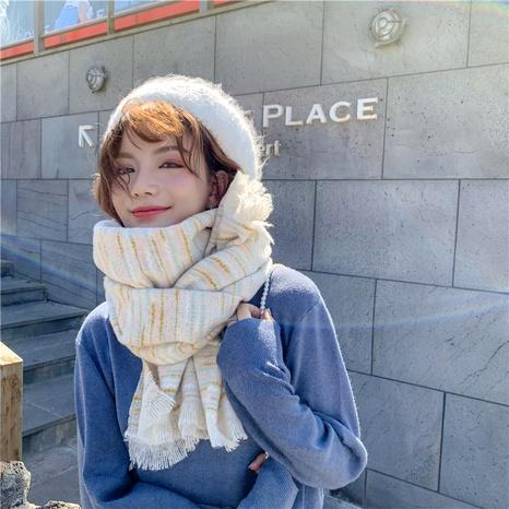 Bufanda de cachemira tejida de nuevo color coreano NHCM291281's discount tags