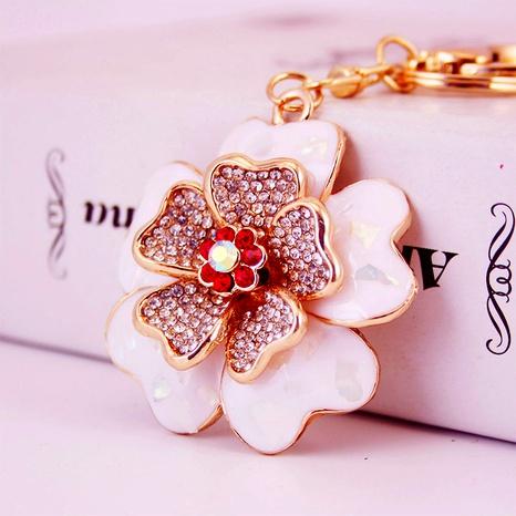 llavero de flor de peonía concha de aleación NHAK291337's discount tags