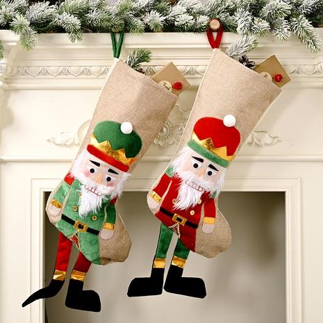 Bolsa de dulces de calcetín navideño Walnut Soldier NHHB291386's discount tags