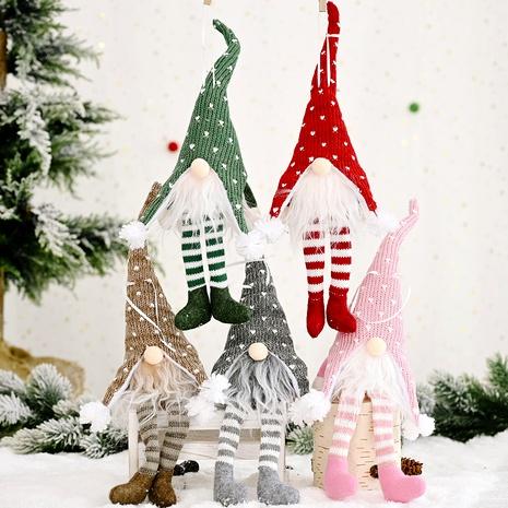 Christmas Elderly Man Hanging Leg Pendant NHHB291383's discount tags