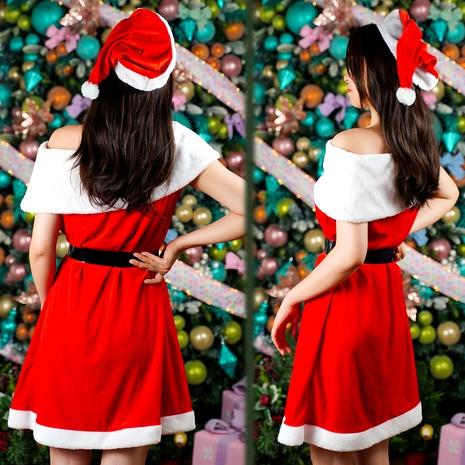 Disfraz rojo de Navidad NHHB291390's discount tags