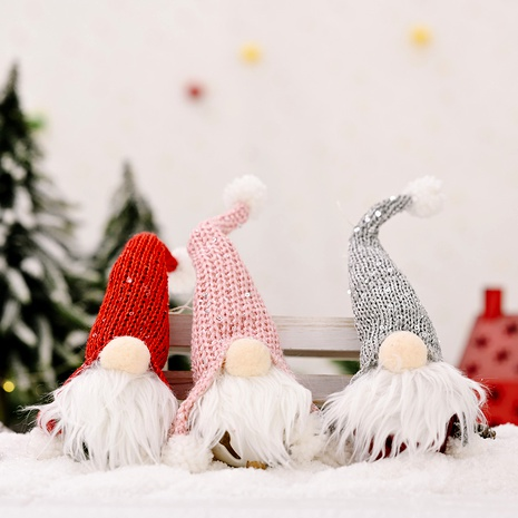 Christmas Forest Elderly Bell Pendant Ornament NHHB291394's discount tags