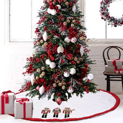 Adornos navideños nogal soldado lino árbol falda NHHB291400's discount tags