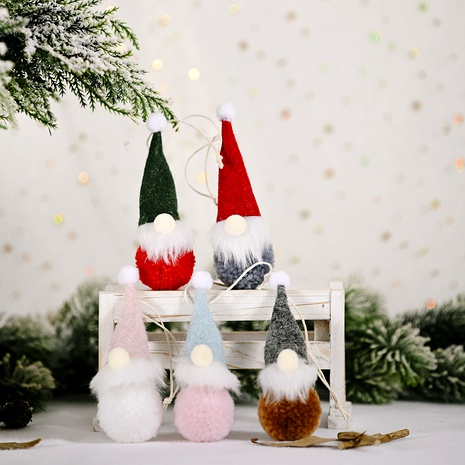 Forest Elderly Felt Pendant Christmas Decorations  NHHB291403's discount tags