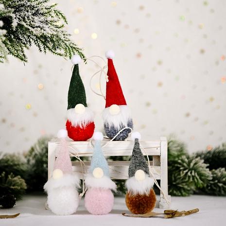 Colgante de fieltro para ancianos del bosque Decoraciones navideñas NHHB291403's discount tags