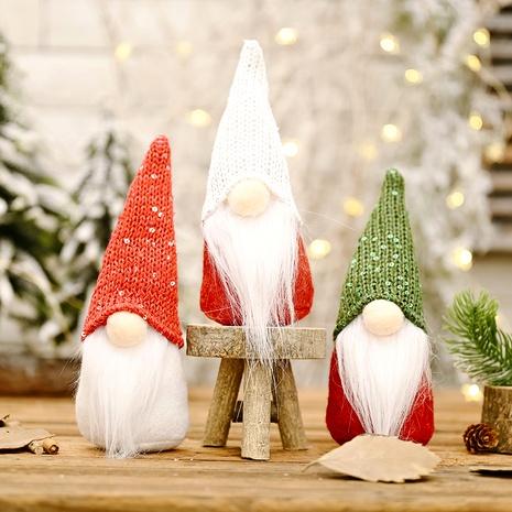 sombrero de lentejuelas muñeca decoración navideña NHHB291404's discount tags