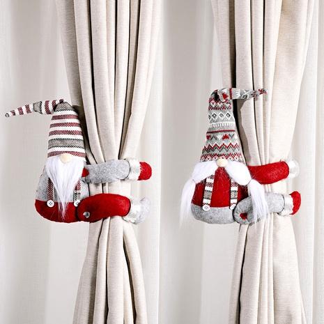 Decoración navideña sombrero a rayas hebilla de cortina NHHB291407's discount tags