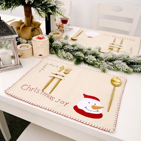 Manteles bordados de decoración navideña NHHB291412's discount tags