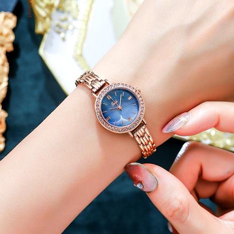 new fashion round quartz small green watch  NHSR291008's discount tags
