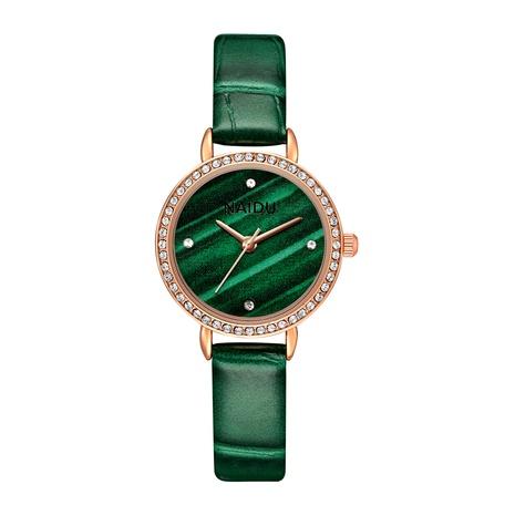 Reloj de cinturón de PU fino de moda NHSS291020's discount tags
