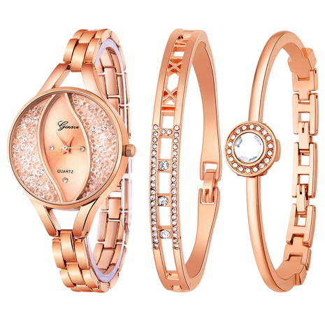 Fashion Bright Water Diamond Set Ladies Watch  NHSS291017's discount tags