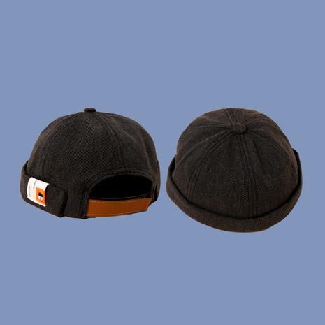 Sombrero salvaje del propietario de la hebilla del cuero de la etiqueta del paño de la moda coreana NHTQ291042's discount tags
