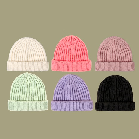 Sombrero de lana de propietario de mohair de color puro de moda salvaje coreana NHTQ291049's discount tags