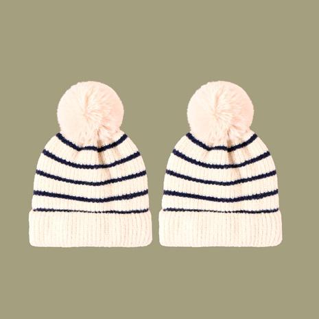 Sombrero de lana a rayas retro salvaje de moda coreana NHTQ291051's discount tags