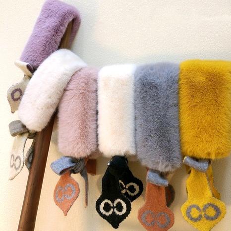 children's plush scarf  NHQU291061's discount tags