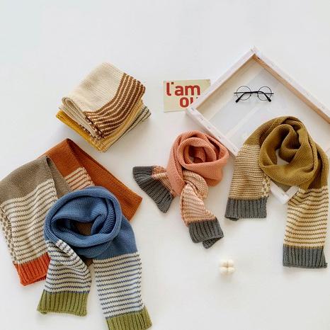 new Korean simple striped scarf  NHQU291062's discount tags