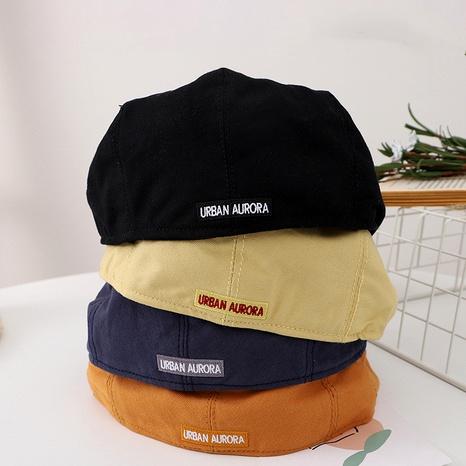 solid color children's beret  NHQU291052's discount tags