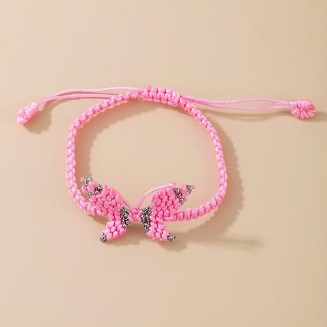 bracelet papillon tissé à la main NHGY291804's discount tags