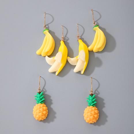 boucles d'oreilles en acrylique à la mode NHGY291808's discount tags