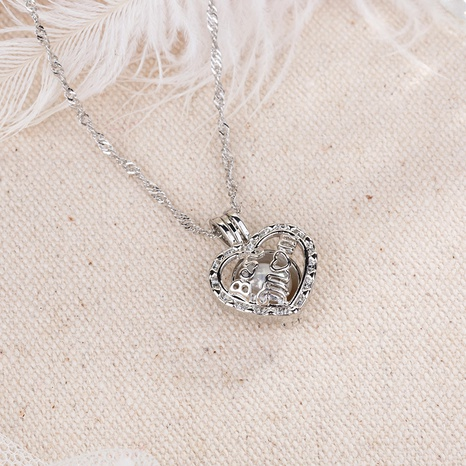 Luminous Heart-shaped Necklace  NHAN291093's discount tags
