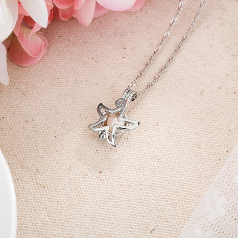 fashion pearl pendant necklace  NHAN291091's discount tags