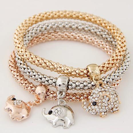 fashion diamond cute pendant multilayer bracelet NHSC291815's discount tags