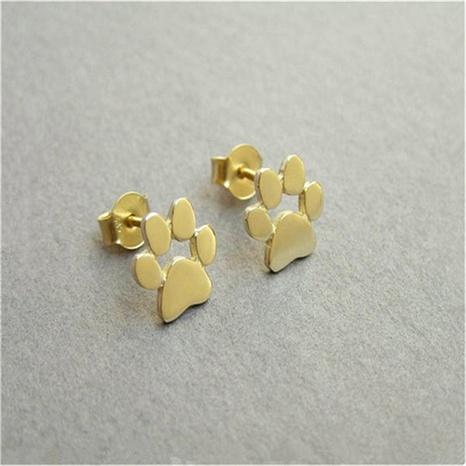 boucles d'oreilles fantaisie à imprimé chien NHQC291545's discount tags