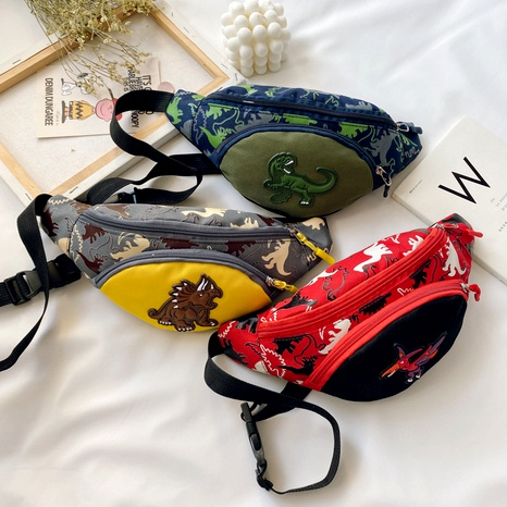 Children's fashion cartoon pattern waist bag NHTG291555's discount tags