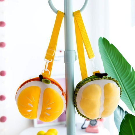 creative durian orange children bag  NHTG291557's discount tags